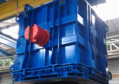 moules béton pour container CBFK pour déchets nucléaires