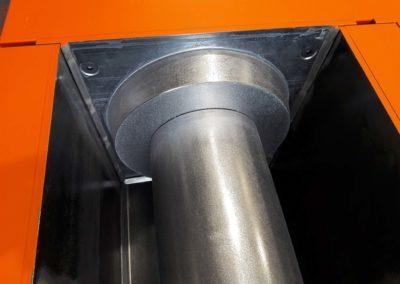 Moule de pré-fabrication béton : caniveaux à fente pour faire l'assainissement de parking, autoroute, aéroport.
