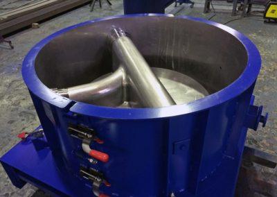 Moules de préfabrication béton de fonds de regards