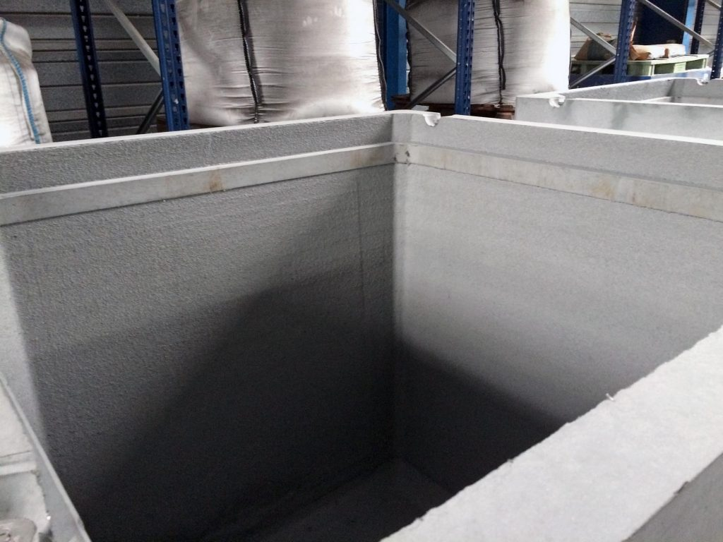 conteneur CBFK pour déchets nucléaires