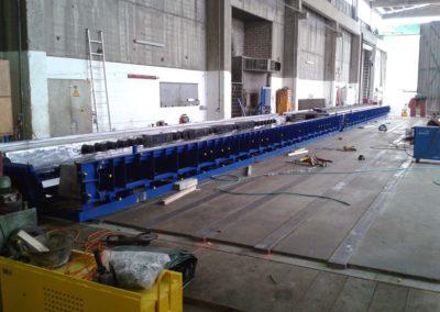 Moule de poutres en béton précontraint (université Muttenz - Suisse) - 04/12/2015 - Elément SA, usine de Veltheim