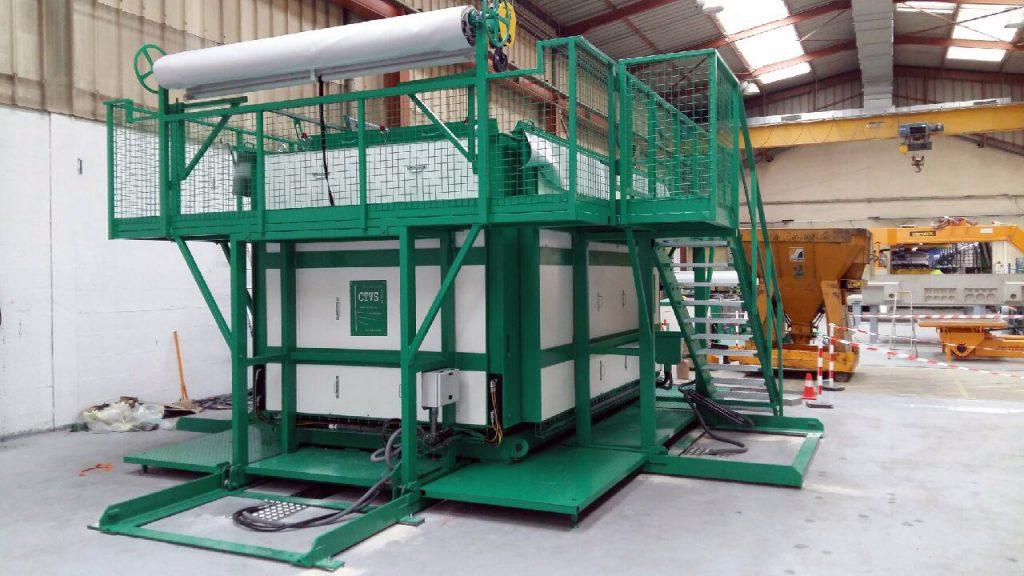 Moules béton pour poste de transformation électrique ENEDIS