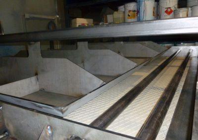 Moule pour BFUP de la passerelle en BFUP du Bouveret Suisse - 04/12/2017 - Elément SA, usine de Tavel
