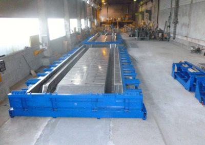 Moule de préfabrication pour dalles TT ou dalles Pi Pièces béton structurelles