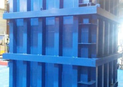 moule pour fabrication de cage ascenseur en béton