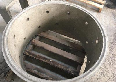 Buse de puits drainants