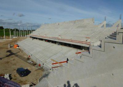 gradins stade de Freiburg - Allemagne