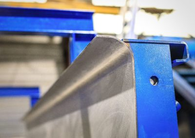 détail de la qualité de surface d'un intérieur de moule