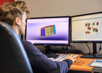 bureau d'études moules de préfabrication béton